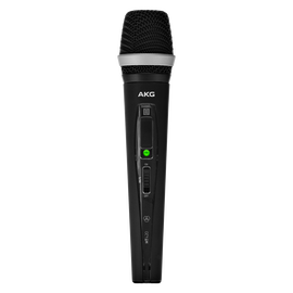 HT420 Band-A - Black - Professional wireless handheld transmitter - Hero