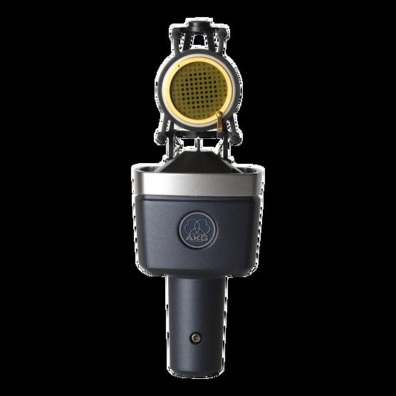 C214 - Black - Professional  large-diaphragm  condenser microphone - Detailshot 4