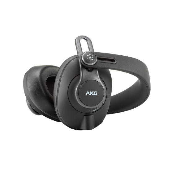 K371-BT - Black - Over-ear, closed-back, foldable studio headphones with Bluetooth - Detailshot 2