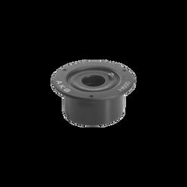 H600 - Black - Shock mount w/height adjustment for DAM series goosenecks - Hero