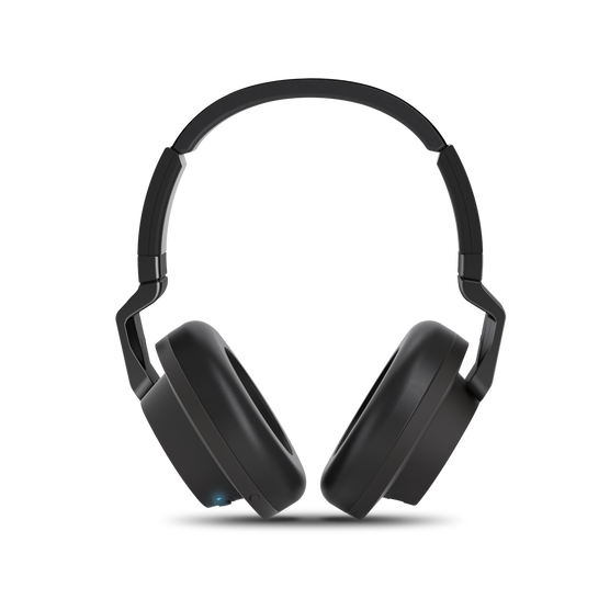 K 845BT - Black - High performance over-ear wireless headphones with Bluetooth - Front