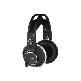 K872 - Black - Master reference closed-back headphones - Hero
