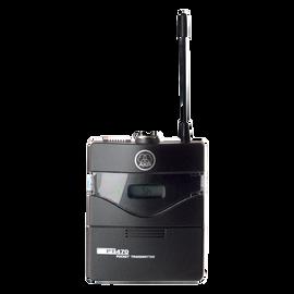 PT470 Band10 50mW - Black - Professional wireless body-pack transmitter - Hero