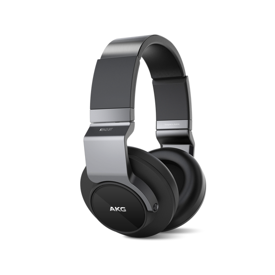 K 845BT - Black - High performance over-ear wireless headphones with Bluetooth - Hero