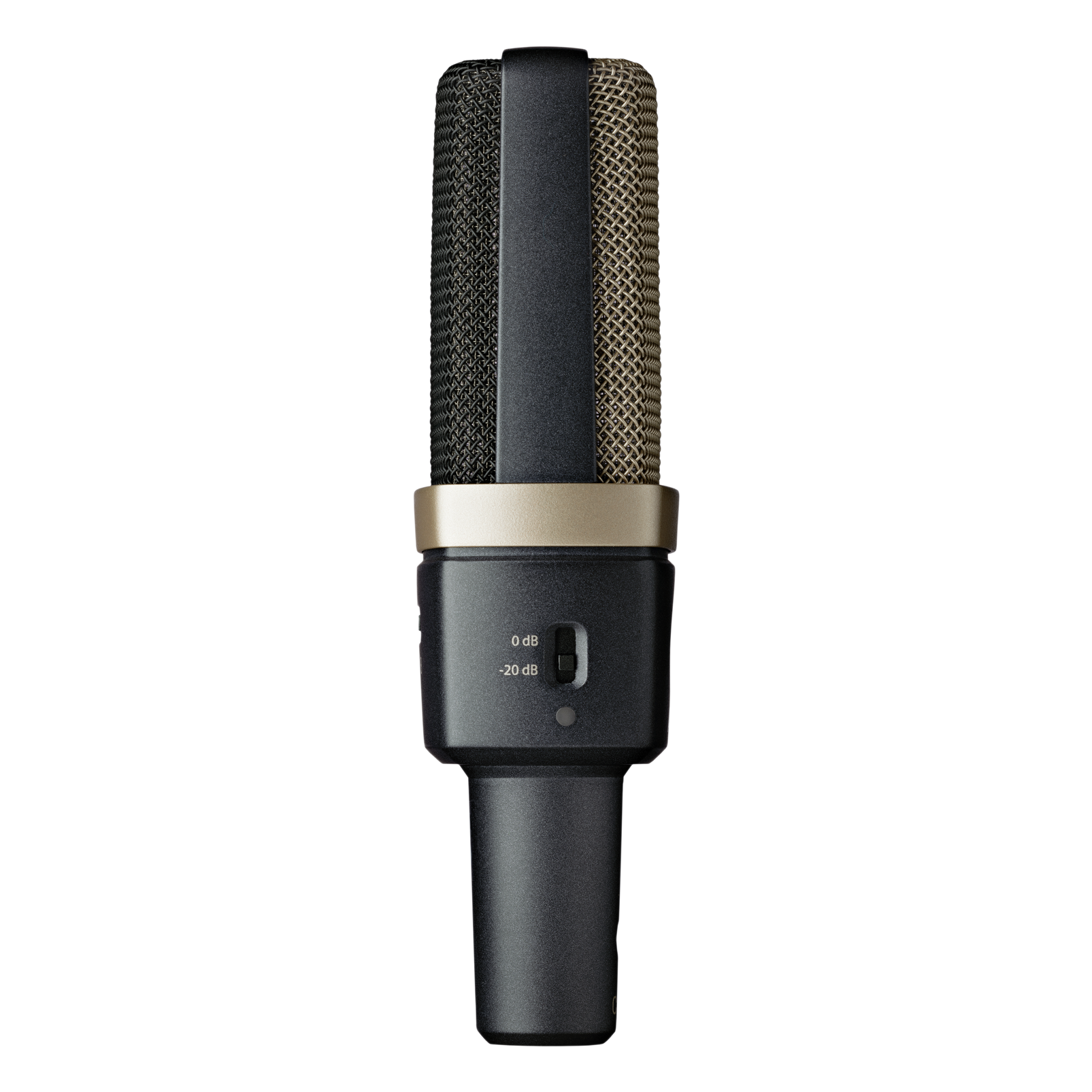 C314 - Black - Professional multi-pattern condenser microphone - Left