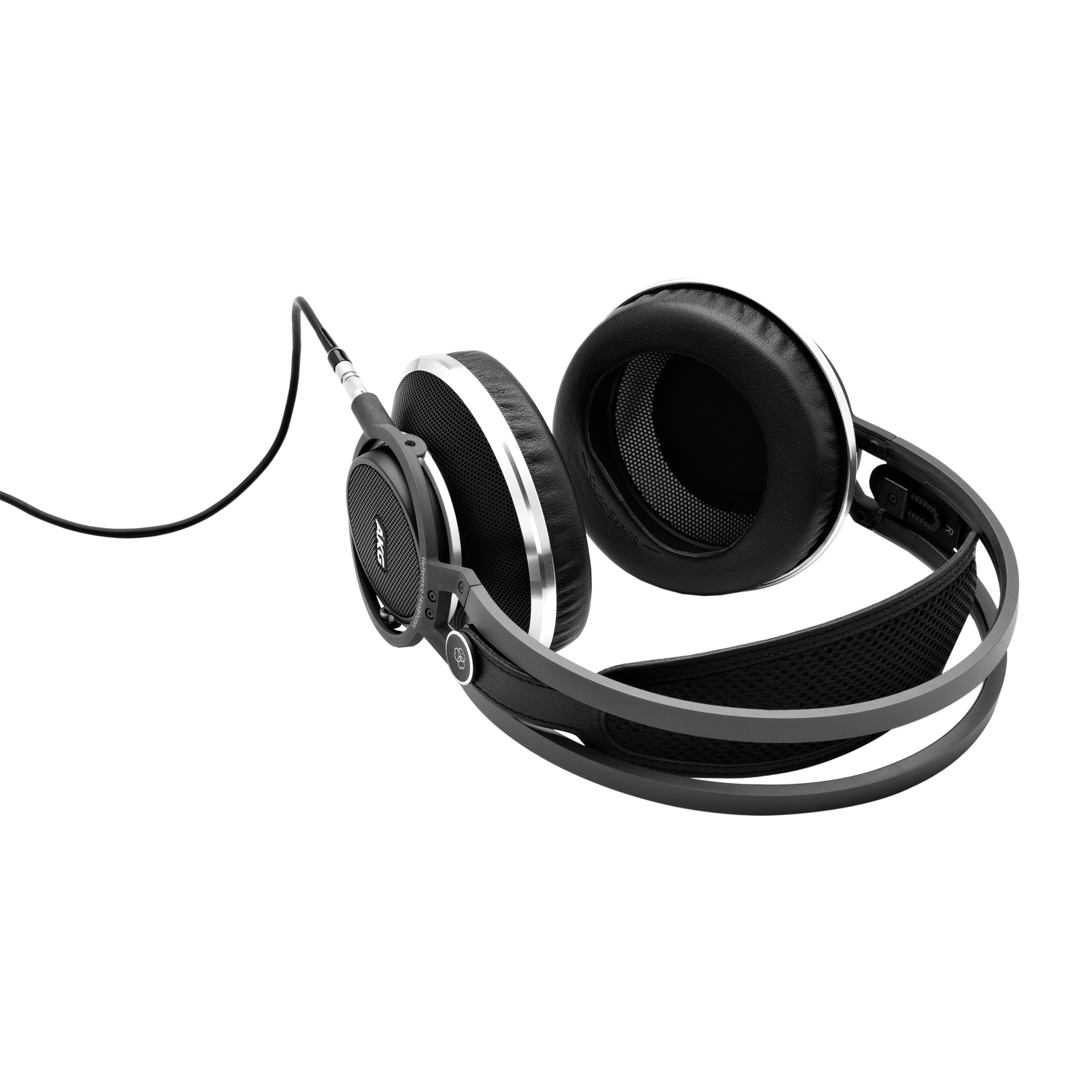 K812 - Black - Superior reference headphones - Detailshot 2