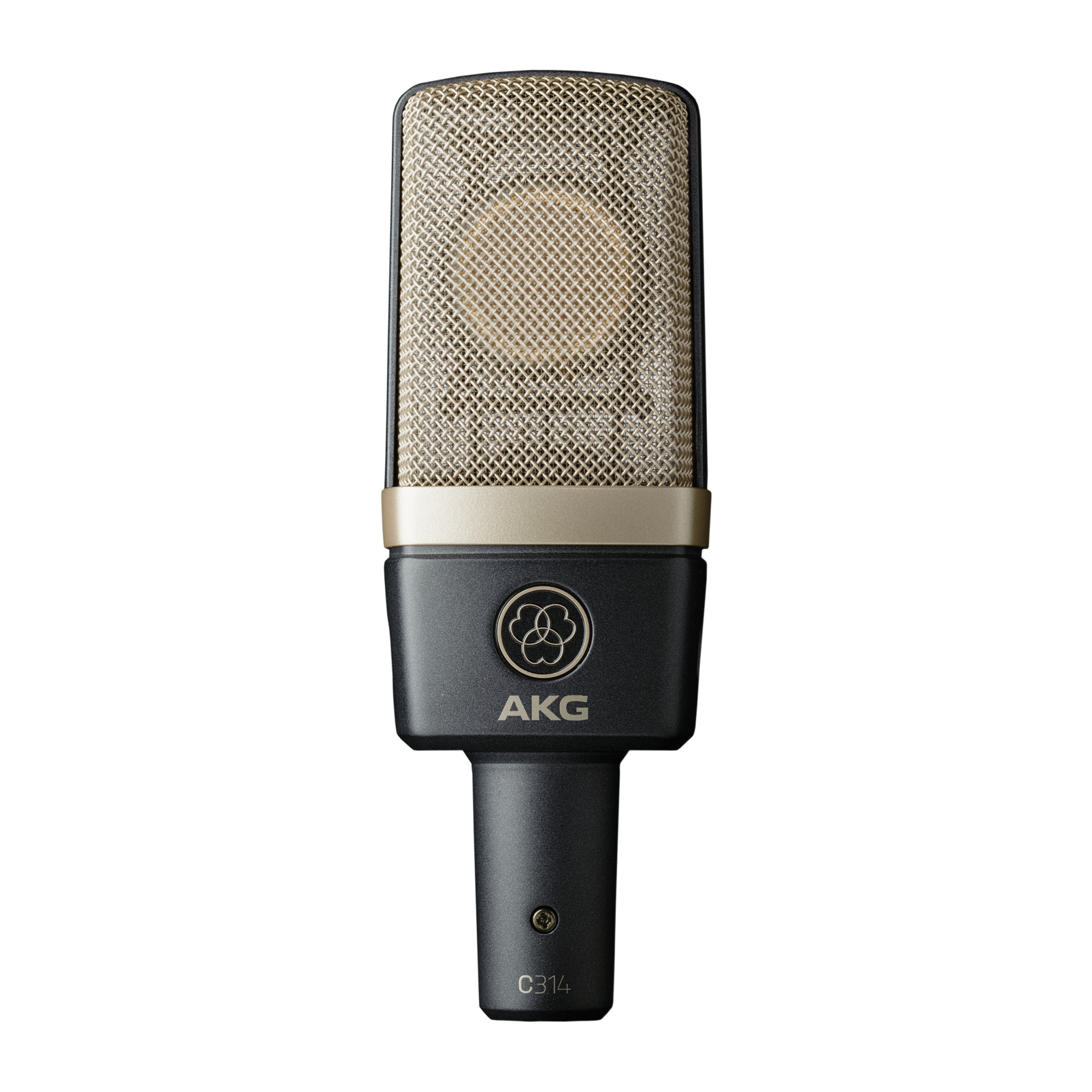 C314 - Black - Professional multi-pattern condenser microphone - Hero