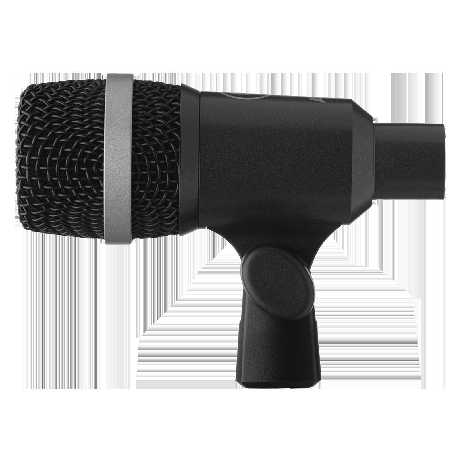 D40 - Black - Professional dynamic instrument microphone - Left