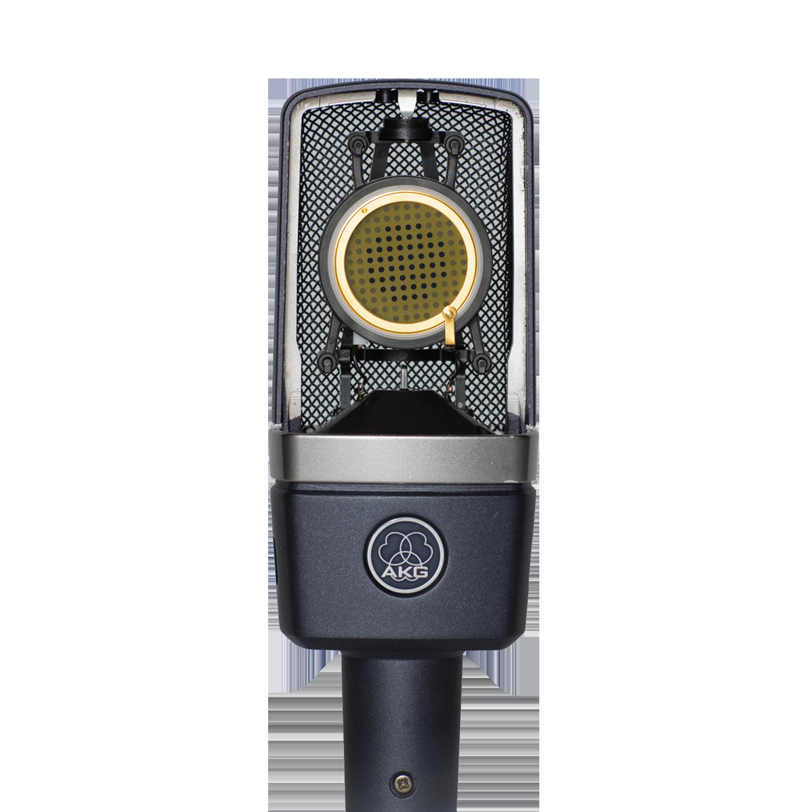 C214 - Black - Professional  large-diaphragm  condenser microphone - Detailshot 2