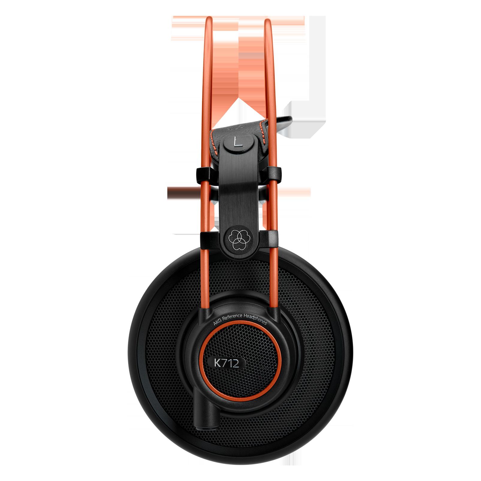 K712 PRO - Black - Reference studio headphones  - Left
