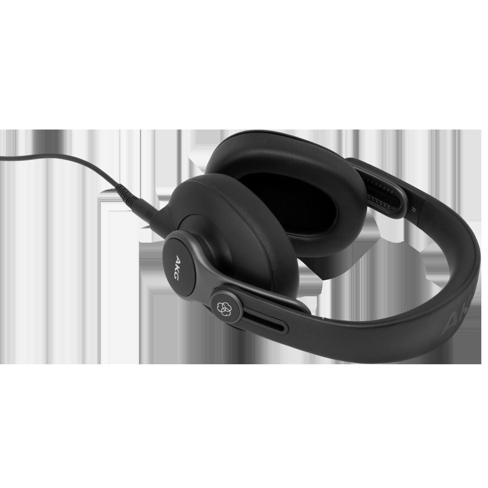 K371 - Black - Over-ear, closed-back, foldable studio headphones - Detailshot 3