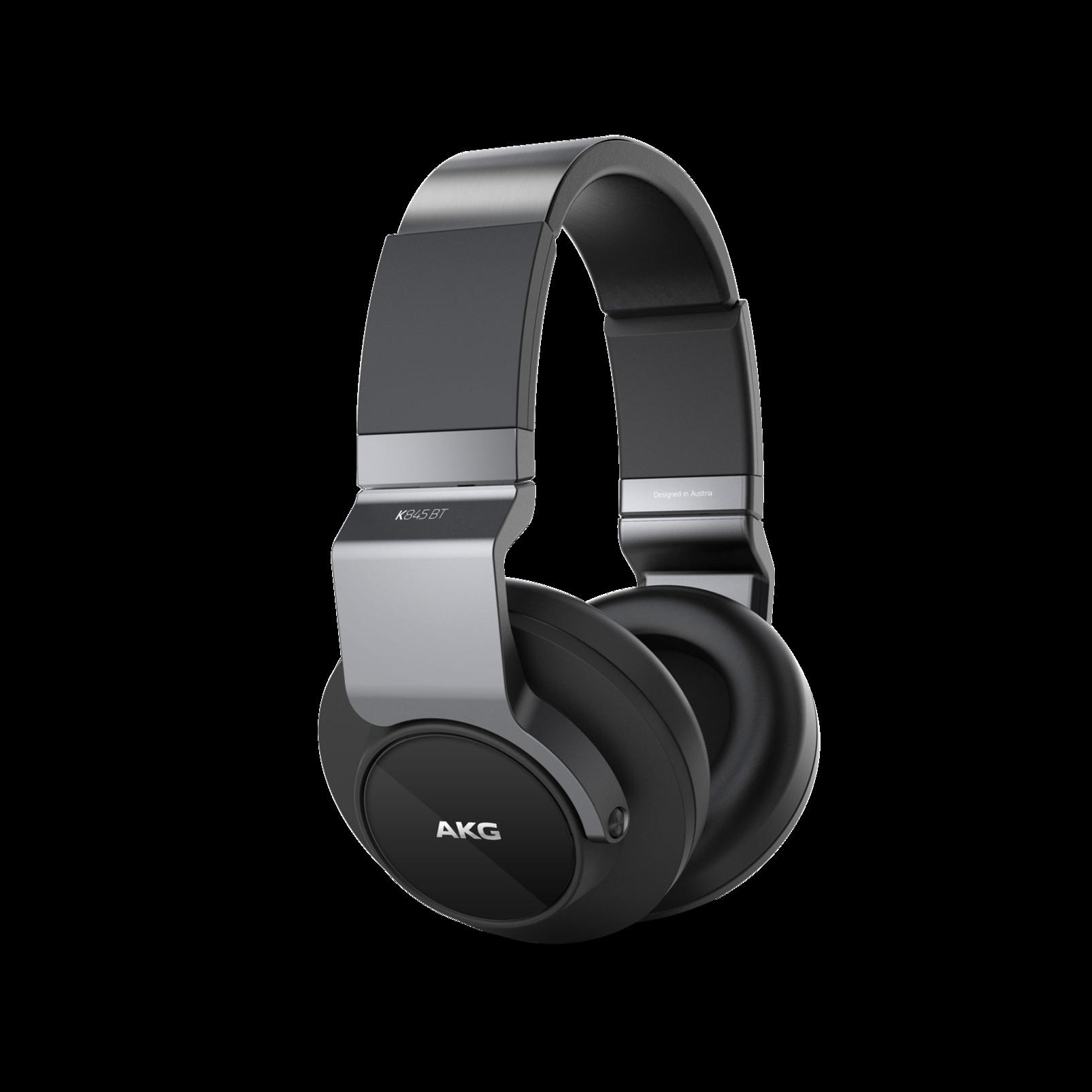 K 845BT - Black - High performance over-ear wireless headphones with Bluetooth - Hero
